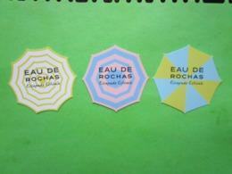 ROCHAS  -  3 Cartes Parfumées - Perfume Cards