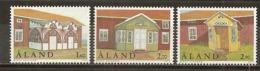Aland 1998 Maisons Homesteads Set Complete MNH ** - Aland
