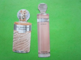 ROCHAS  -  2 Cartes Parfumées - Perfume Cards