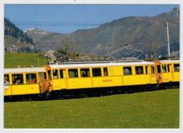 SVIZZERA    TRAIN- ZUG- TREIN- TRENI- GARE- BAHNHOF- STATION- STAZIONI  2 SCAN  (NUOVA) - Treni