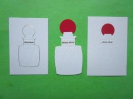 MIU-MIU  -  3 Cartes Parfumées - Perfume Cards