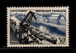 FRANCE - 1956 - YT - N° 1080 - ** - Port De Strasbourg - Neufs