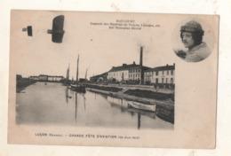 Luçon Grande Fète D Aviation 30 Juin 1912  DAUCOURT Gagnant Des Meeting De Troyes - Lucon
