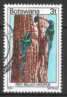 Green Wood Hoopoe. N°352 Chez YT. (Voir Commentaire) - Botswana (1966-...)