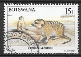 Suricate Lekotoko. N°560 Chez YT. (Voir Commentaire) - Botswana (1966-...)