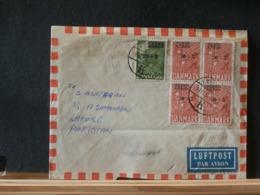 A11/507 LETTRE POUR PAKISTAN  1956 - Dinamarca