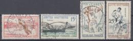 +France 1958. Jeux Traditionels. Yvert 1161-64. Oblitérés. Cancelled. - Oblitérés