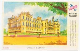 Buvard 14.9 X 9.5 Biscottes Allégées GREGOIRE Château De Saint Germain - Biscottes