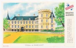 Buvard 14.9 X 9.5 Biscottes Allégées GREGOIRE Château De Rambouillet - Biscottes
