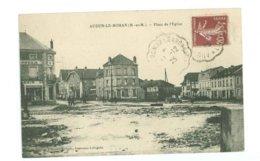 54 -- AUDUN LE ROMAN - Place De L'Eglise - Francia