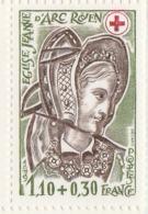PIA  FRAN - 1979 : A Profitto Della Croce Rossa -  Vetrate Della Chiesa Di S.Giovanna D'Arco A Rouen  - (Yv  2070a-71a) - Primo Soccorso