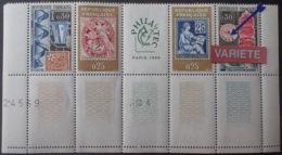 R1591/665 - 1964 - PHILATEC - N°1417A TIMBRES NEUFS** - VARIETE ➤➤➤ Chiffres Inf. Du Cadran Téléphonique Noires - Variétés Et Curiosités