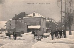 BRENOD (Ain) - La Place En Hiver - Autres Communes