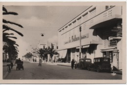 TUNISIE  SOUSSE  AVENUE DU 12 AVRIL 1943  CINEMA  THEATRE   PALACE - Tunisia