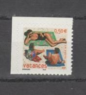 FRANCE / 2003 / Y&T N° 3578 ** Ou AA 35 ** : Mère & Enfants Sur La Plage (de Carnet) X 1 CdC - état D'origine - France
