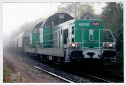 FRANCIA    NERSAC     TRAIN - ZUG- TREIN- TRENI- GARE- BAHNHOF- STATION- STAZIONI  2 SCAN  (NUOVA) - Trains
