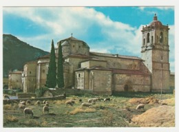 Monasterio De Irache Navarra N°23 Vue Générale En 1965 Troupeau De Moutons Berger Chien Citroën 2CV Camionnette Seule - Navarra (Pamplona)
