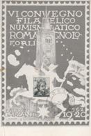 Cartolina  - Postcard / Non   Viaggiata - Unsent/  Convegno Filatelico Romagnolo - 19/20 Maggio 1962 - Borse E Saloni Del Collezionismo