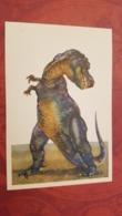 Tyrannosaurus  - Rare Old Soviet Dinosaur Serie - Old USSR Postcard 1969 Tyrannosaurus Rex - Altri