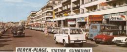 62 - BERCK PLAGE - Peugeot 404 Break - Renault Estafette - Citroën DS - MG - Mercedes - 1968 - Passenger Cars
