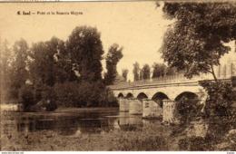 BELGIQUE   Luxembourg   IZEL  Pont Et La Semois Moyen.  TBE - Chiny