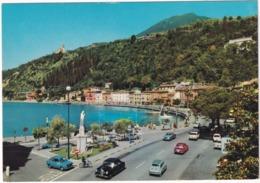 Maderno: MERCEDES PONTON, FIAT 600, 850, RENAULT 10, LANCIA FLAVIA COUPÉ, VW 1200, AUTOBIANCHI DUE POSTI - Lago Di Garda - Voitures De Tourisme