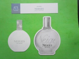 LISE WATIER -  3 Cartes Parfumées - Perfume Cards
