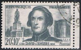 FRANCE : N° 1210 Oblitéré (David D'Angers) - PRIX : 0,54 € Soit 30 % De La Cote - - Oblitérés