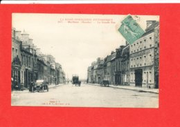 50 BARFLEUR Cpa Animée La Grande Rue   4077 Coll L G - Barfleur