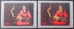 R1591/674 - 1966 - G. DE LA TOUR - N°1479 NEUF** - VARIETE ➤➤➤ Nuance Rose à Gauche Et Rouge Vif à Droite - Variétés Et Curiosités