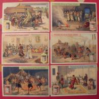 6 Chromo Liebig : Danses. 1911. S 1018 - Liebig