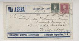 Luftpostbrief Aus RIO GALLEGOS 20.12.32 Nach Buenos Aires - Argentina