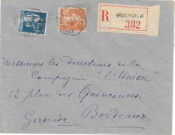 Recette Auxiliaire Urbaine Arcachon A Gironde Recommandé - Postmark Collection (Covers)
