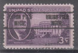 USA Precancel Vorausentwertung Preo, Locals Michigan, Union Pier 734 - Vereinigte Staaten
