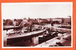 X76300 LE HAVRE Bateau Pilote LE ROUEN Place GAMBETTA Et Les YACHTS 1930s Photo-Bromure CIGOGNE 11-39 - Hafen