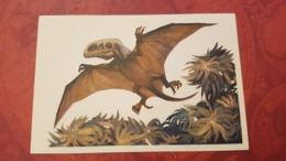 Dimorfodon (Dimorphodon)   - Dinosaur Serie - Old USSR Postcard 1969 - Altri