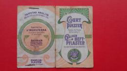 COURT Plaster.Englisch Heft-pflaster - Altri