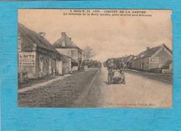 Circuit De La Sarthe, 1906. - La Descente De La Belle Inutile, Pour Arriver Aux Tribunes. ( Sarthe ). - Altri Comuni