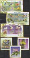 GHANA  2002 INSECTS BUTTERFLIES  MNH MI. 3479 - 96 BL. 443 - 45 - Butterflies