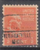USA Precancel Vorausentwertung Preo, Locals Michigan, Vermontville 734 - Vereinigte Staaten