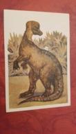 "Corythosaurus - Rare Old Soviet Dinosaur Serie - Old USSR Postcard 1969  Hadrosaurid ""duck-billed"" Dinosaur - Altri"