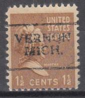 USA Precancel Vorausentwertung Preo, Locals Michigan, Vernon 701 - Vereinigte Staaten