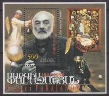Armenia - Armenie 1999 Yvert BF 11,75th Anniversary Birth Director Sergeï Parajanov - MNH - Arménie