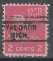 USA Precancel Vorausentwertung Preo, Locals Michigan, Waldron 729 - Vereinigte Staaten