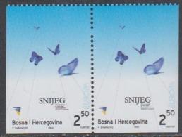 Europa Cept 2003 Bosnia/Herzegovina Sarajevo 2v From Booklet Pane ** Mnh (45169A) - Europa-CEPT