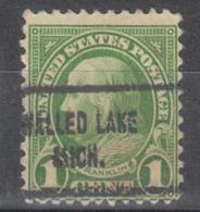 USA Precancel Vorausentwertung Preo, Locals Michigan, Walled Lake 632-713 - Vereinigte Staaten