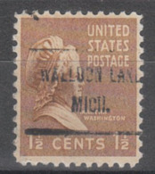 USA Precancel Vorausentwertung Preo, Locals Michigan, Walled Lake 719 - Vereinigte Staaten
