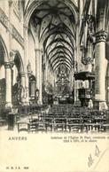 CPA - Belgique - Antwerpen - Anvers - Intérieur De L'Eglise St. Paul - Antwerpen