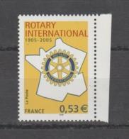 FRANCE / 2005 / Y&T N° 3750 ** : Rotary (gommé) X 1 BdF D - Gomme D'origine Intacte - Neufs