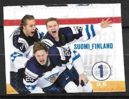 Finlande 2016 N°2424 Neuf Hochey Sur Glace, Champions Du Monde - Finnland